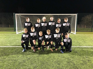 Ely City Crusaders U13s Blue win the Cambridge & District Colts League