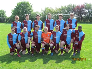 Ely Crusaders FC Sunday Seniors - Win the league